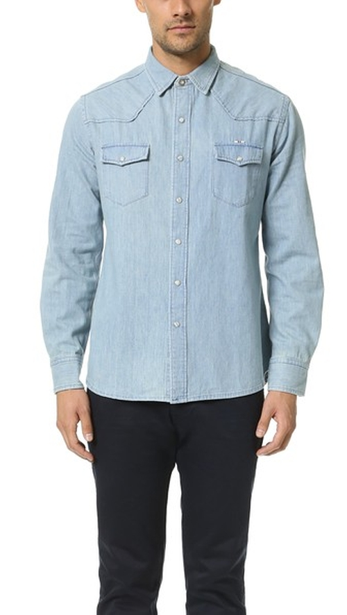 Western Shirt by Maison Kitsune in Everybody Wants Some
