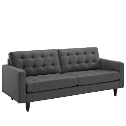 Empress Upholstered Sofa by Lexmod in Adult Beginners