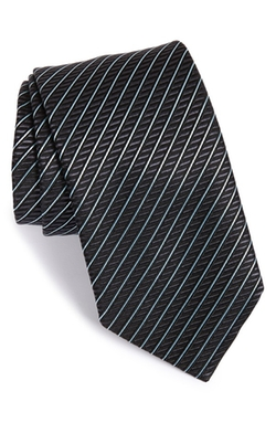 Stripe Silk Tie by Ermenegildo Zegna in Suits