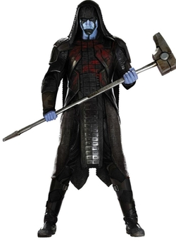 Custom Made Costume (Ronan the Accuser) by Alexandra Byrne (Costume Designer) in Guardians of the Galaxy