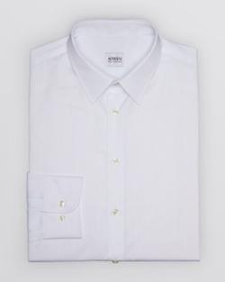 Stripe Dress Shirt by Armani Collezioni in Suits