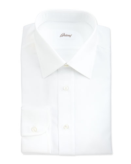 Herringbone Dress Shirt by Brioni in Atonement
