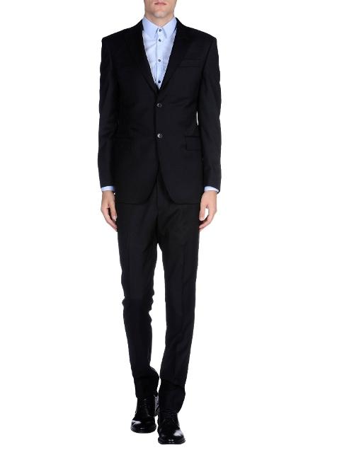 Lapel Collar Suits by Pierre Balmain in Spy