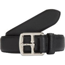 Saffiano Belt by Barneys New York in Top Five