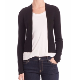 Ganes B Evian Stretch-Wool Cardigan by Theory in How To Get Away With Murder
