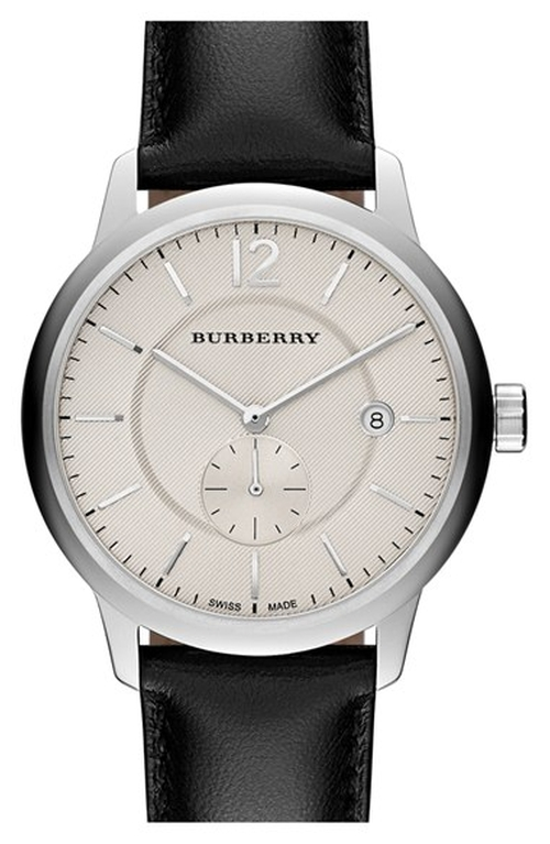 Textured Dial Watch by Burberry in The Good Wife - Season 7 Episode 4