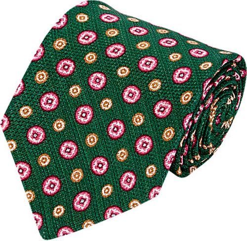 Medallion Neck Tie by Kiton in The Good Wife