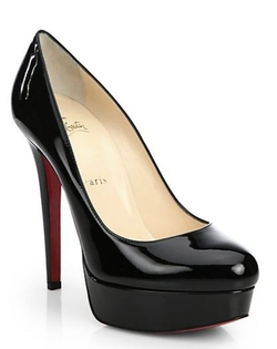 Bianca Patent Leather Platform Pump by Christian Louboutin in American Horror Story