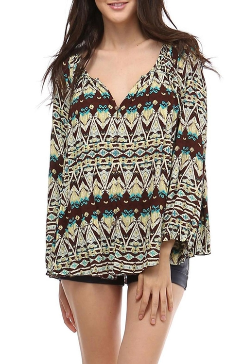 Coconut Blouse by Trendology in Wet Hot American Summer