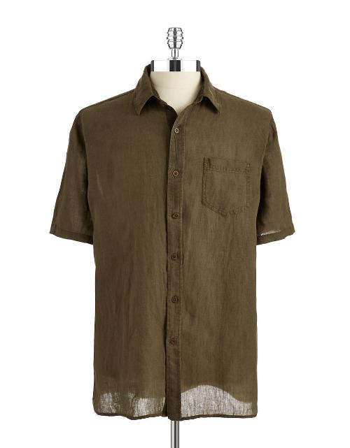 Short Sleeved Sport Shirt by Black Brown 1826 in Horrible Bosses 2