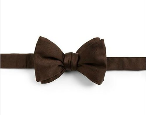 Solid Silk Bow Tie by Eton of Sweden in Night at the Museum: Secret of the Tomb