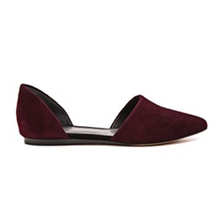 Nina D'Orsay Flat Shoes by Vince in The Big Bang Theory