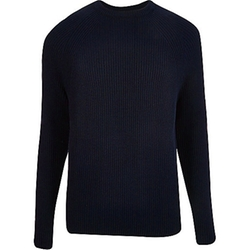 Ribbed Knit Sweater by River Island in Silicon Valley