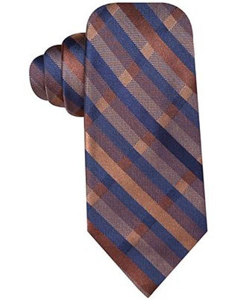 Radio Plaid Slim Tie by Ryan Seacrest Distinction in Need for Speed