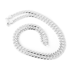 Miami Cuban Link Chain Necklace by Beauniq in Ballers