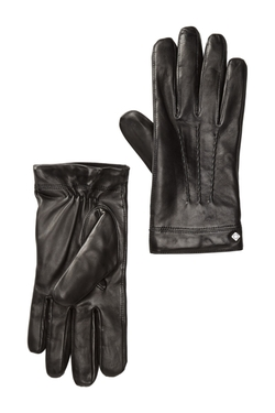 Spliced Leather Gloves by Cole Haan in Jessica Jones