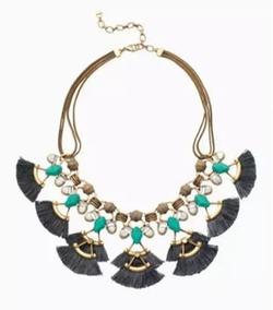 Lotus Tassel Necklace by Stella & Dot in Pretty Little Liars