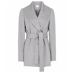 Sila Shawl-Collar Coat by Reiss in The Good Wife