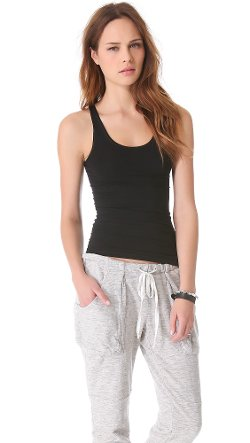 Len II Tubular Tank Top by Theory in Pitch Perfect 2