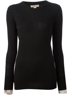 Classic Knit Sweater by Burberry Brit in Barely Lethal