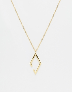 Geometric Longline Necklace by ASOS in Popstar: Never Stop Never Stopping