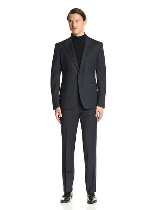 Peak Lapel Suit by Versace  in Arrow - Season 4 Episode 14
