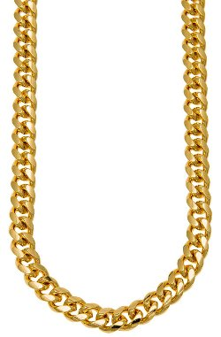 Clout Club Chunky Cuban Necklace by Clout Club Chicago in Run All Night