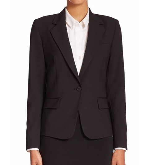 Gabe Edition Stretch-Wool Blazer by Theory in Sleepless