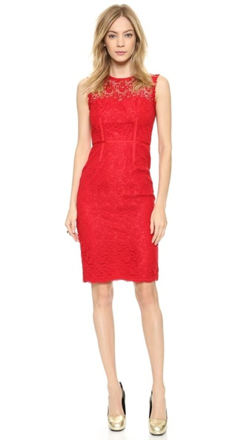 Lace Sheath Dress by Jill Jill Stuart in Avengers: Age of Ultron