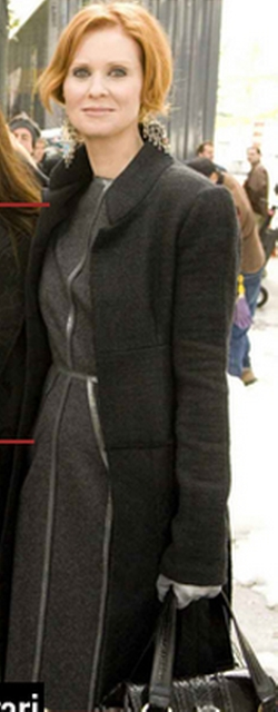 Wool Coat by J.Mendel in Sex and the City