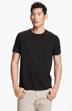 Pima Cotton Crewneck T-Shirt by Vince in Me and Earl and the Dying Girl