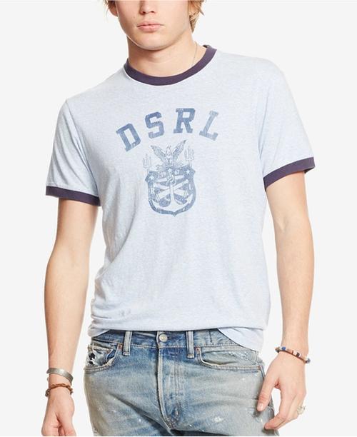 Men's Jersey Graphic Ringer T-Shirt by Denim & Supply Ralph Lauren in Joshy
