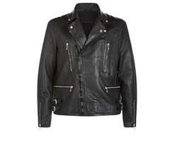 Skept Leather Biker Jacket by AllSaints in Shadowhunters