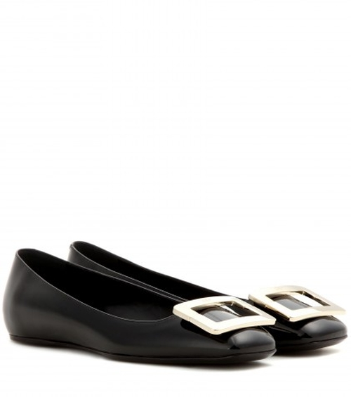 U Patent Leather Ballerinas by Roger Vivier in The Man from U.N.C.L.E.