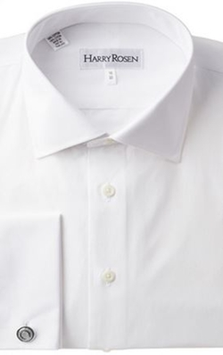 French Cuff Dress Shirt by Harry Rosen in Suits