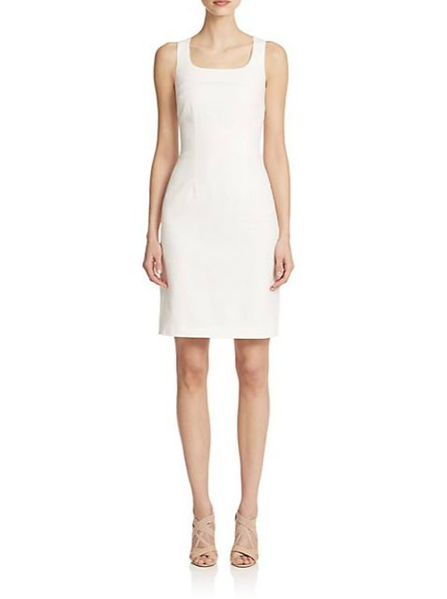 Textured Sheath Dress by Peserico in By the Sea