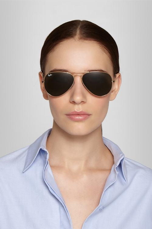 ray ban aviator small schwarz