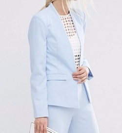 Structured Edge to Edge Blazer by Asos in Scream Queens