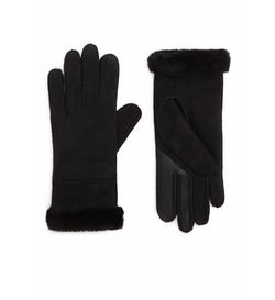 Slim Genuine Shearling Tech Gloves by UGG Collection in Daddy's Home 2