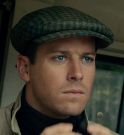 Custom Made W. Bill Wool Check Ivy Cap by Joanna Johnston (Costume Designer) in The Man from U.N.C.L.E.