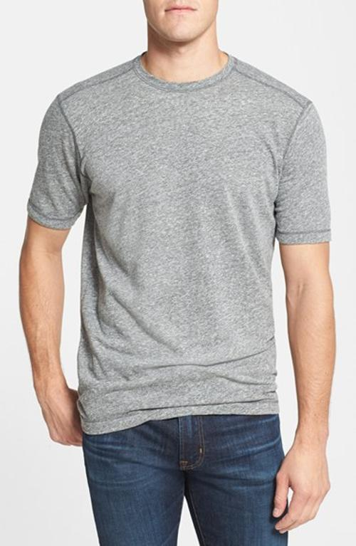 Mock Twist Crewneck T-Shirt by Agave in The Best of Me