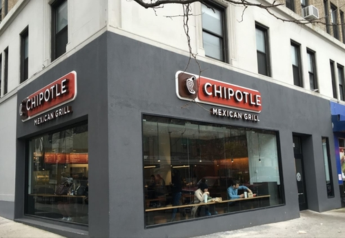 Chipotle Mexican Grill New York City, New York in Unbreakable Kimmy Schmidt - Season 2 Episode 11 - Kimmy Meets a Celebrity!