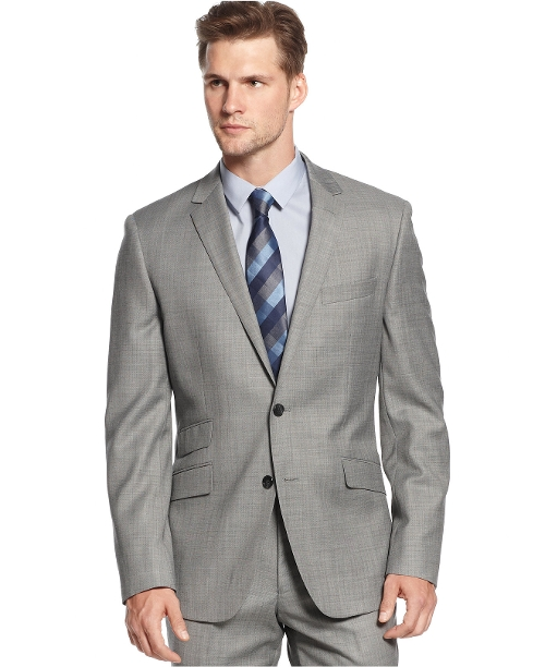 Sharkskin Trim-Fit Jacket by Kenneth Cole New York in Ricki and the Flash