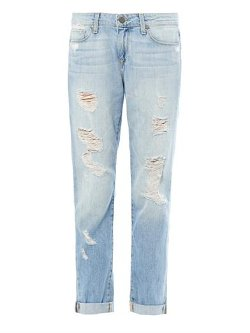Tyler Distressed Boyfriend Jeans by Paige Denim in If I Stay
