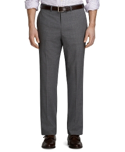 Fitzgerald Fit Dress Trousers by Brooks Brothers in Ant-Man