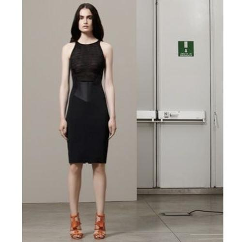 Custom Made Black Sleeveless Dress by Antonio Berardi in The Other Woman