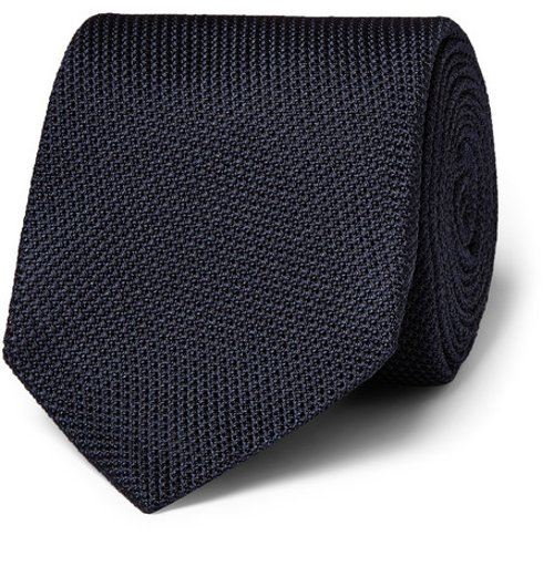 Silk Grenadine Tie by Drake's in Kingsman: The Secret Service