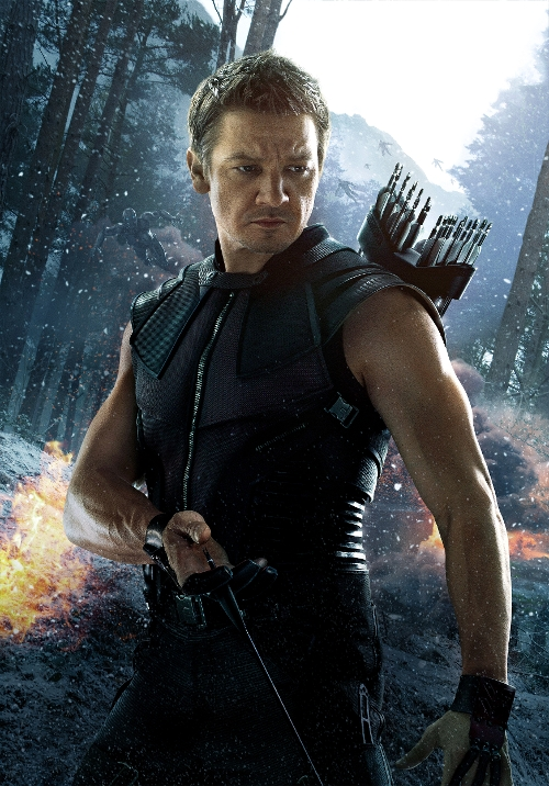 Custom Made Hawkeye Sleeveless Soldier Costume (Jeremy Renner) by Alexandra Byrne (Costume Designer) in Marvel's The Avengers