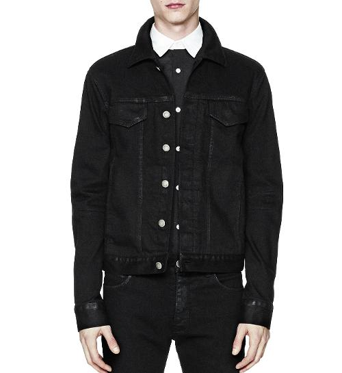 Trace Denim Jacket	 by Helmut Lang in If I Stay