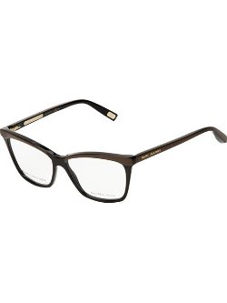 Rectangle Frame Glasses by Marc Jacobs in Couple's Retreat